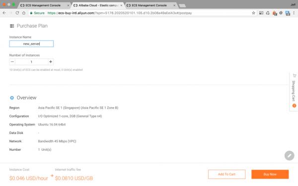 Alibaba Cloud 1 – Secure an Ubuntu Server